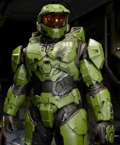 Halo Cosplay, Skyrim Cosplay, Cosplay Armor, Anime Cosplay, Halo Spartan Armor, Halo Armor, Master Chief And Cortana, Halo Master Chief, Halo Reach