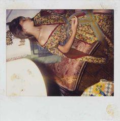 "Balthus, ""Untitled"" (c. 1990–2000), color polaroid"