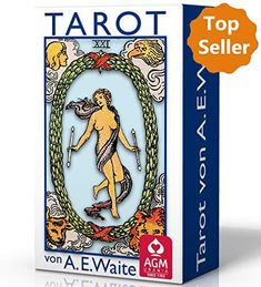 Tarot von A. Waite - Standard (Tarotkarten im Standardformat 7 x 12 cm) Illustrator, Bookends, Baseball Cards, Mini, Cover, Home Decor, Products, Random Stuff, Tutorials
