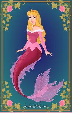 aurora deviantart | Aurora- Disney Mermaids by WolfsGesang