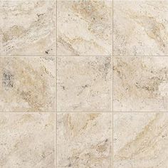 FOYER:   MARAZZI Travisano Trevi 12 in. x 12 in. Porcelain Floor and Wall Tile (14.40 sq. ft. / case)-ULN9 at The Home Depot