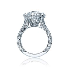 Side view of style# HT2603RD95.   Tacori at Beverly's Jewelers.  Engaging South Florida for over 46 years!  www.bevjewelers.com