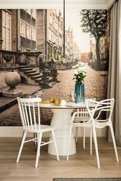 Очаровательная квартира с элементами лофта и ретро от польских дизайнеров FABRYKA WNĘTRZ.