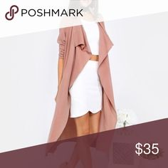 💕For Michelle 🆕 Mauve Duster Coat For @gabrilleeamazing Fashionomics Jackets & Coats