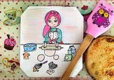 size, hamur açma konusundaki beceriksizliğimden bahsetmiş miydim  . . .  #çizim #illüstrasyon #illustration #ciziktiriklerim #illüstrasyon  #resim #myart #drawing #sketching  #instaart  #watercolor #painting  #instaartist #art #cartoonarts #artoftheday #instadraw #instaartist #kitchen #mutfak #