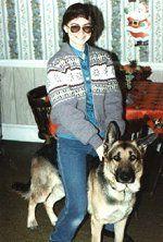 German Shepherd Luke