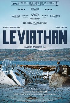Leviafan - 2014 - BDRip Film Afis Movie Poster