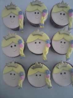 Cupcake Rapunzel Enrolados