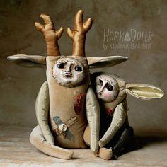 art doll SARNIAK HorkaDolls