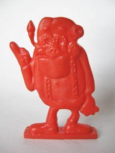 1970s FRANKEN BERRY Monster Frankenberry Cereal Toy Premium, via Etsy.