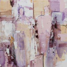 "Saatchi Art Artist: Barbara Houwers; Acrylic 2013 Painting ""Mauve"""