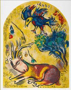 CHAGALL Marc, born Movsja Zacharovitsj SJAGAL (Russian 1887 – 1985) -