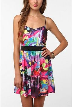 This would be super cute to wear at a festival/concert. :)