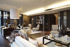 One Hyde Park - Luxury Apartments by the Mandarin Hotel. AMAZING! http://decorandstyle.co.uk/one-hyde-park-mandarin-hotel-luxury-apartments/