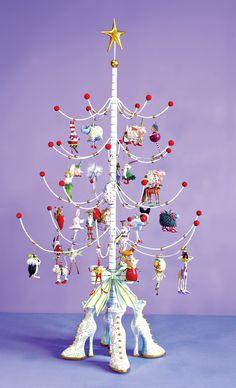 Patience Brewster Mini Ornament Tree