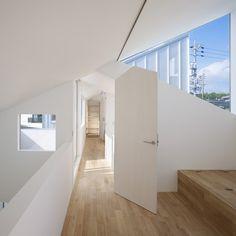 Complex House by Tomohiro Hata #architecture