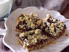caramel layer cookie bars