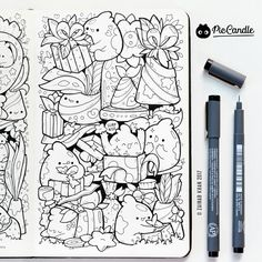 Presents Doodle by #piccandle