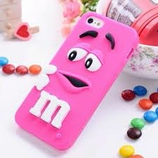 For iphone 6 cases MMs chocolate candy rubber soft silicone cartoon cell phone case covers for case cover Coque Iphone 5c, Coque Ipad, Cute Phone Cases, Iphone Phone Cases, Phone Cover, Coque Ipod Touch 6, Capas Para Iphone 4s, Iphone 6s Plus, Apple Gifts