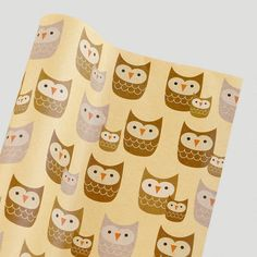 One of my favorite discoveries at WorldMarket.com: Kraft Owl Gift Wrap