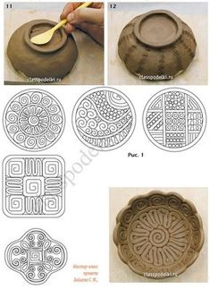 """Latest Photos coil Pottery Designs Ideas Soziokulturelles Projekt """"School of Living Crafts … – Want to try – Hand Built Pottery, Slab Pottery, Pottery Bowls, Coiled Pottery, Greek Pottery, Mccoy Pottery, Ceramic Pottery, Clay Art Projects, Ceramics Projects"""