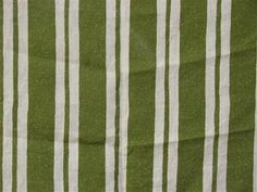 Straight Stripe in Green - By the Yard