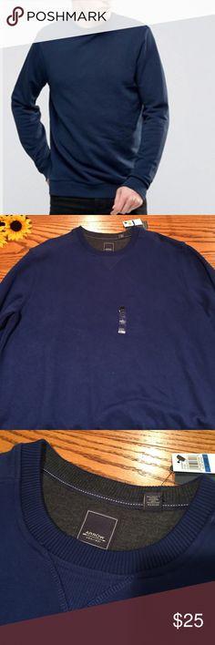 "🆕 Arrow blue men's sweatshirt. Size xlarge 🆕 Arrow 'Sueded Fleece' blue men's sweatshirt. Size xlarge. cotton/algodon 30"" long Arrow Shirts Sweatshirts & Hoodies"
