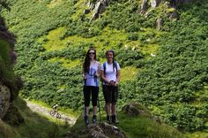 Hiking up castle crag 9the Lake District, Cumbria, England) with my sister. Beautiful scenery and views upon the rocks. #walks #hiking #climbing  Also big news!!! This is my 10,000th pin!!!