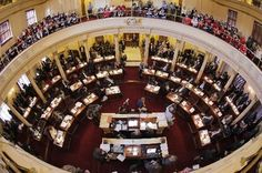 The Senate could vote as early as Thursday on a bill to empower states to require online retailers to collect state and local sales taxes for purchases made over the Internet. Urban Affairs, Mercer County, Cumberland County, Human Services, State Government, Public Service, New Jersey, Chris Christie