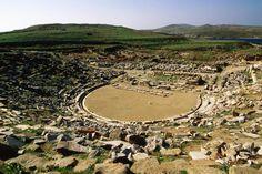 Delos Ancient Greek Theatre