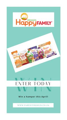 Enter to win a Baby food hamper!