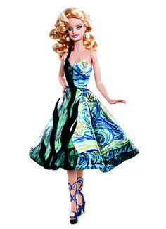 I got Barbie Inspired by Vincent van Gogh! Which Barbie Doll Are You?