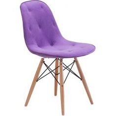 Zorine Side Chair in Purple. This colour just pops!!