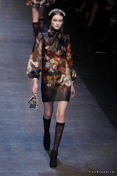 Dolce&Gabbana осень-зима 2012-2013 / дольче габбана последнии коллекции