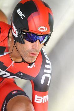 George Hincapie (BMC) gets set for his 17th Tour de France