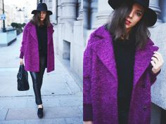perfect purple coat