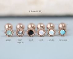 This article is not available - Tragus piercing tragus earring cartilage earring shell - Tragus Piercings, Tragus Piercing Jewelry, Cute Piercings, Piercing Tattoo, Cartilage Earrings, Stud Earrings, Double Cartilage, Cartilage Piercings, Daith