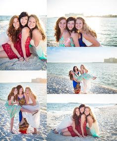 best friend beach photo shoot | orange beach, alabama photography