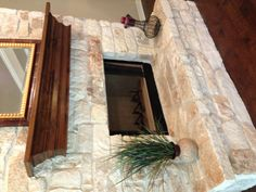 austin stone fireplace Full Austin Stone Fireplace with Raised