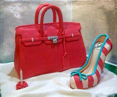 Clothing / Shoe / Purse - Hermes birkin bag and Christian louboutin shoe