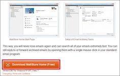 GmailやOutlookなどをバックアップし、別メールソフトへ移せるフリーソフト「MailStore Home」