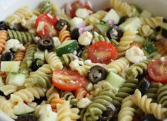 Valentine's Day Appetizers Kraft. Feta And Vegetable Rotini Salad  The Girl Who Ate Everything