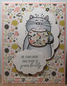 I Luv Scrapping Too: We Compliment Each Other so Purrfectly - Spring/Summer Coffee Lover's BlogHop