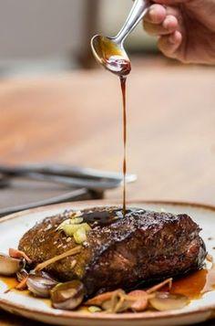 Raquete da paleta bovina (flat iron), por André Ahn por Academia da carne Friboi