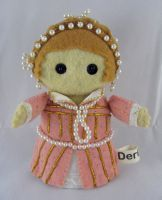 Mary, Queen of Scots by deridolls