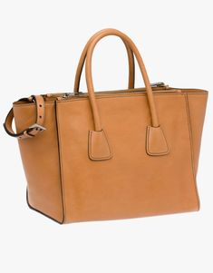 Prada Glace Calf Leather Tote worn by Olivia Pope on Scandal. Leather Handle, Calf Leather, Scandal Fashion, Olivia Pope, Calves, Prada, Belt, Tote Bag, My Style