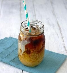 Perfect Iced Coffee~Kristine's Kitchen