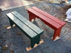 simple benches | Simple Garden Benches Add Accent | Woodworker's Guide