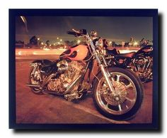 Harley Davidson Classic Motorcycle Home Decor Wall Art Print Poster (16x20):Amazon:Home & Kitchen