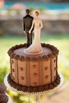 The Love Pinch Bridal Couple Figurine Funny Wedding CakesFunny